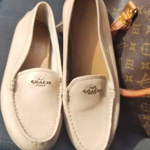 Women's Coach Mary Lock up Driver loafers